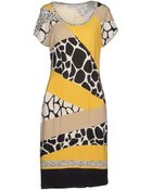 Angelo Marani Short Dress - Lyst