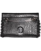 Roberto Cavalli Small Nappa Leather Bag - Lyst