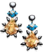 Dannijo Celeste Crystal Drop Earrings - Lyst