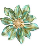 Alexis Bittar Lucite Movable Petal Large Flower Pin - Lyst
