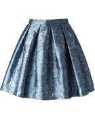 Charlott Pleated Skirt - Lyst