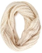 Forever 21 Loose-Knit Infinity Scarf - Lyst