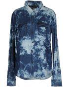 Textile Elizabeth and James Denim Shirt - Lyst