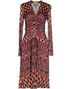 Issa Knee-Length Dress - Lyst