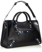 Balenciaga Classic Giant City Leather Shoulder Bag - Lyst