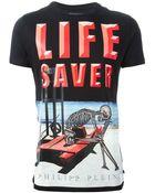 Philipp Plein Life Saver T-Shirt - Lyst