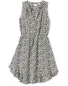 Rebecca Taylor Lena Ruffle Dress - Lyst