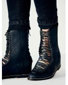 Free People Womens Delancy Hidden Wedge Boot - Lyst