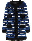 Marc Jacobs Fur Coat - Lyst