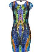 McQ by Alexander McQueen Print Dress - Lyst