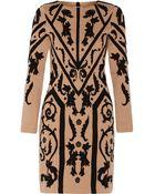 Temperley London Josefa Jacquard-Knit Stretch-Wool Dress - Lyst
