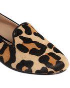 Dune Kozzie Leopard Slipper Shoe - Lyst