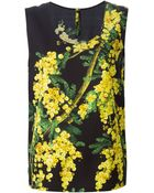 Dolce & Gabbana Acacia Print Tank Top - Lyst
