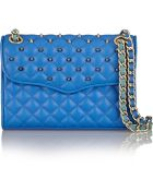 Rebecca Minkoff Mini Quilted Affair Studded Leather Shoulder Bag - Lyst