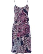 Oasis Paisley Print Cami Dress - Lyst
