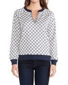 Marc By Marc Jacobs Andrea Jacquard Sweater - Lyst