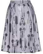 WOOD WOOD Disney & – Zoe Printed Skirt - Lyst