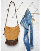 Free People Womens Melbourne Messenger - Lyst