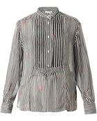 Etoile Isabel Marant Charley Striped Chiffon Shirt - Lyst