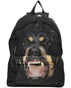 Givenchy Rottweiler Printed Nylon Backpack - Lyst
