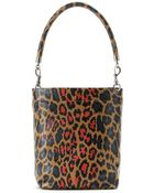 Christopher Kane Printed Leather Tote - Lyst