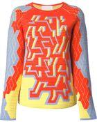 Peter Pilotto 'Pac' Intarsia Sweater - Lyst