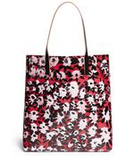 Marni Floral Print Tote - Lyst