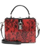 Dolce & Gabbana Dolce Embellished Box Clutch - Lyst