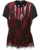McQ by Alexander McQueen Lace Top - Lyst