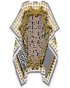 Versace Printed Silk-Chiffon Kaftan - Lyst