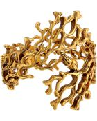 Oscar de la Renta Coral Branch Bracelet - Lyst
