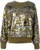 Isabel Marant Sequin Sweater - Lyst