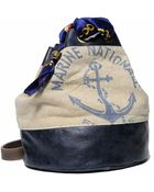 Carine Letessier Montauk Marine Nationale Bucket Bag - Lyst