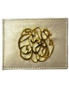 Dareen Hakim Le Card Holder Gold Dust - Lyst