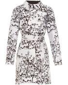 Diane von Furstenberg Nicoline Trench Coat - Lyst