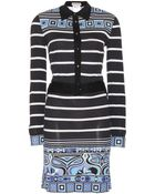 Emilio Pucci Printed Shirt Dress - Lyst