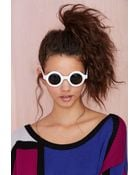 Nasty Gal Around We Go Shades - Lyst
