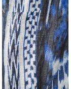 Roberto Cavalli Printed Scarf - Lyst