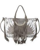 Angel Jackson Lakota Sequin Bag - Lyst