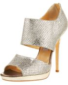 Jimmy Choo Double-banded Bootie - Lyst