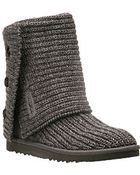 Ugg Classic Cardy - Grey Crochet Boot - Lyst