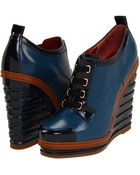 Marc By Marc Jacobs Wedge ankle boots - Lyst