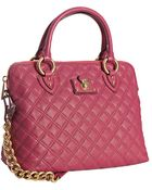 Marc Jacobs Pink Quilted Leather The Standard Shoulder Bag - Lyst