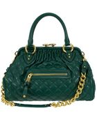 Marc Jacobs Quilted Stam in Green - Lyst