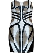 Sass & Bide Tribal Print Mini Dress - Lyst