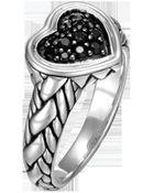John Hardy Classic Chain Kepang Silver Lava - Lyst