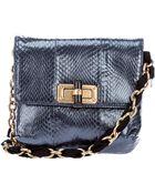 Lanvin Snakeskin Bag - Lyst