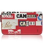 Bric's Campari Munari Limited Edition Zip Around Wallet - Lyst