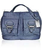 Coccinelle Joan Mat - Calf Leather Front Pockets Handbag - Lyst
