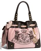 Juicy Couture Scotty Embroidery Daydreamer Tote - Lyst